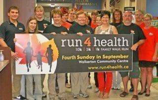 Run4Health family walk/run