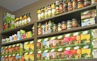 Pharmacy Store Shelves