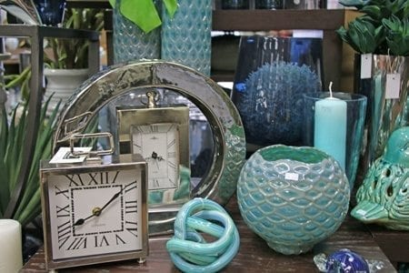 Display clocks and other ornaments