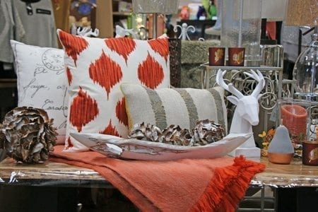 Pretty accent pillows