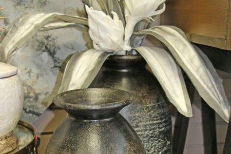 Stylish floor vases