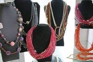 Stylish multi-strand necklaces