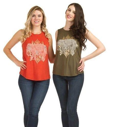 Women's tank tops